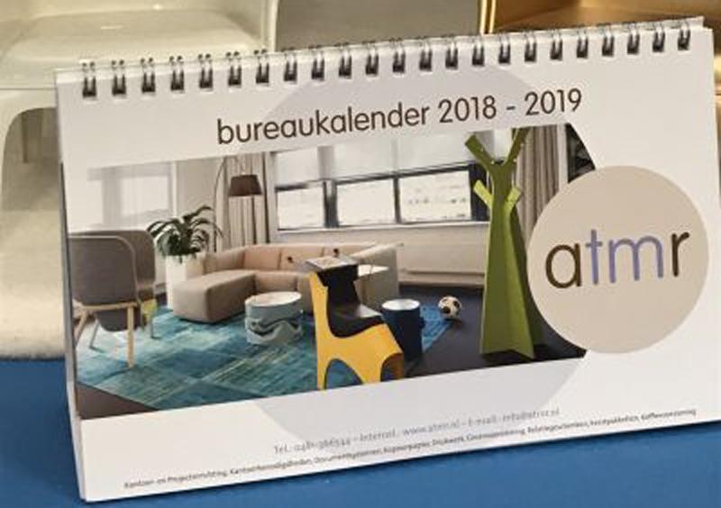 De nieuwe bureaukalender is binnen! Bestel hem gratis!