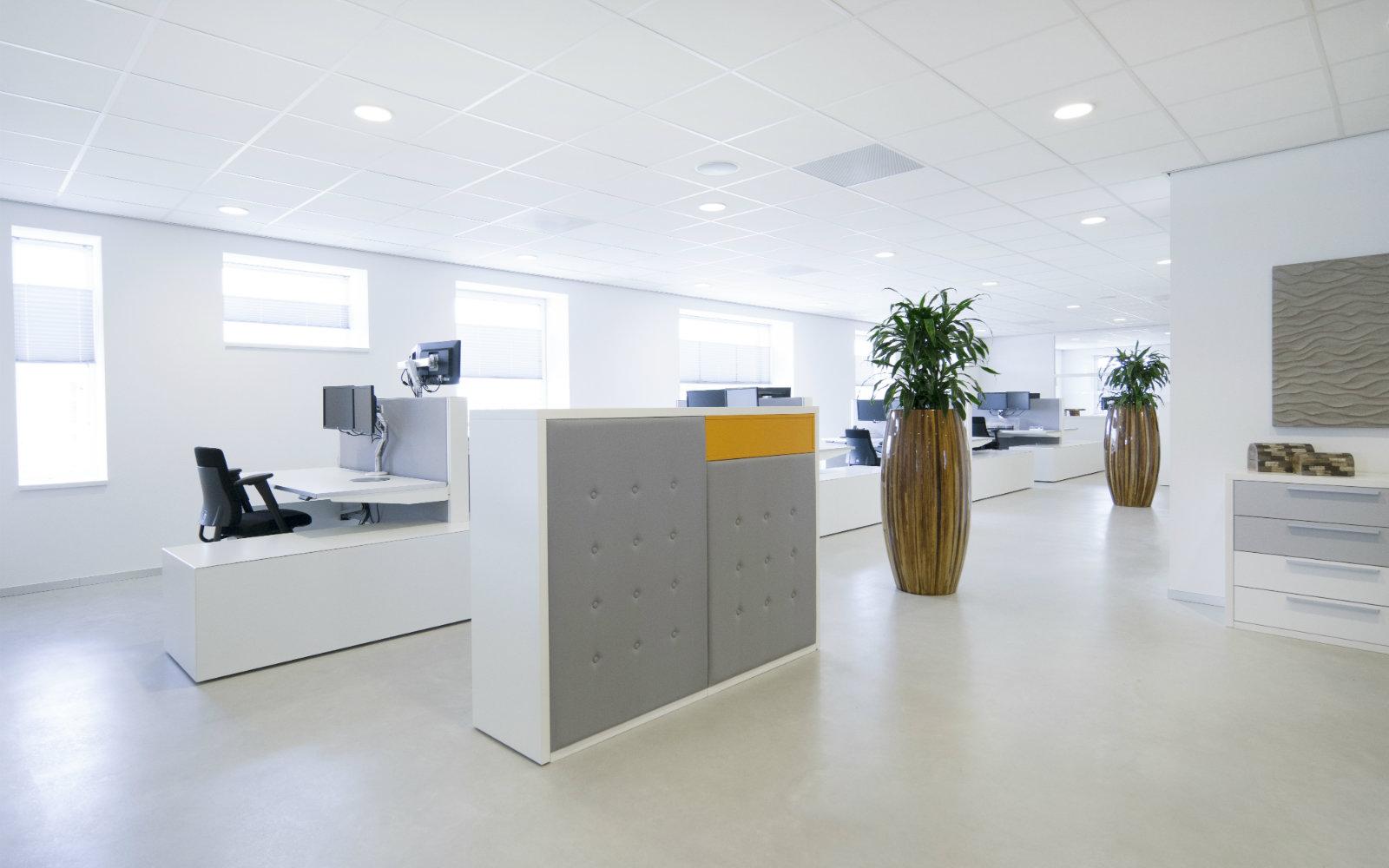 Complete kantoorinriching