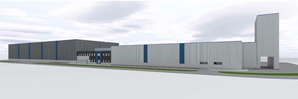 AtmR richt, geheel in stijl, het nieuwe kantoor in van Morssinkhof Rymoplast te Heerenveen