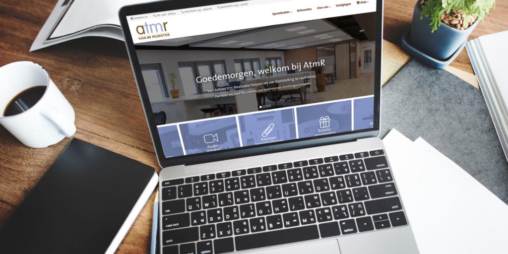 AtmR lanceert nieuwe website!