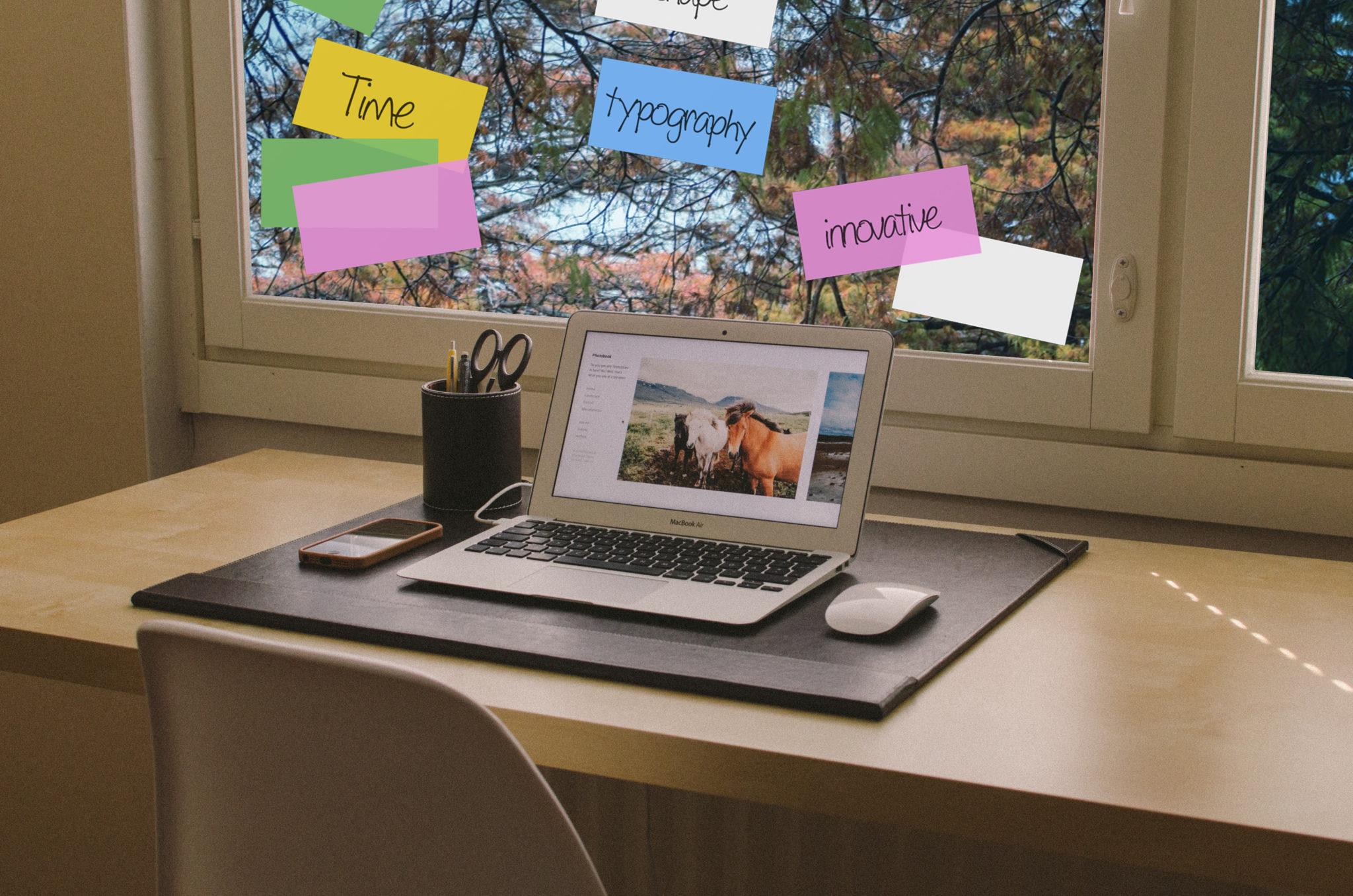 Thuis je werk organiseren, met deze visuele communicatiemiddelen lukt het.
