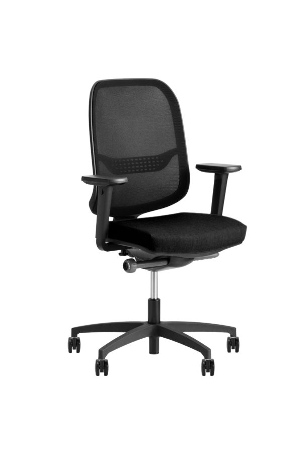 Be Fine B11 bureaustoel zwart