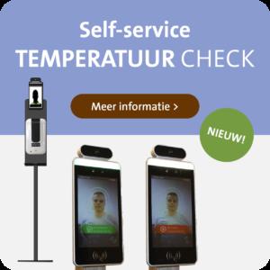 Self-service Temperatuur Check