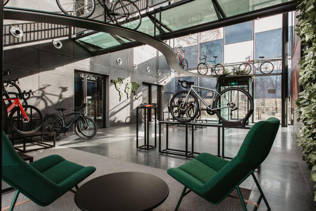 Binnenkijken bij het nieuwe kantoor van Specialized Bicycle Components!