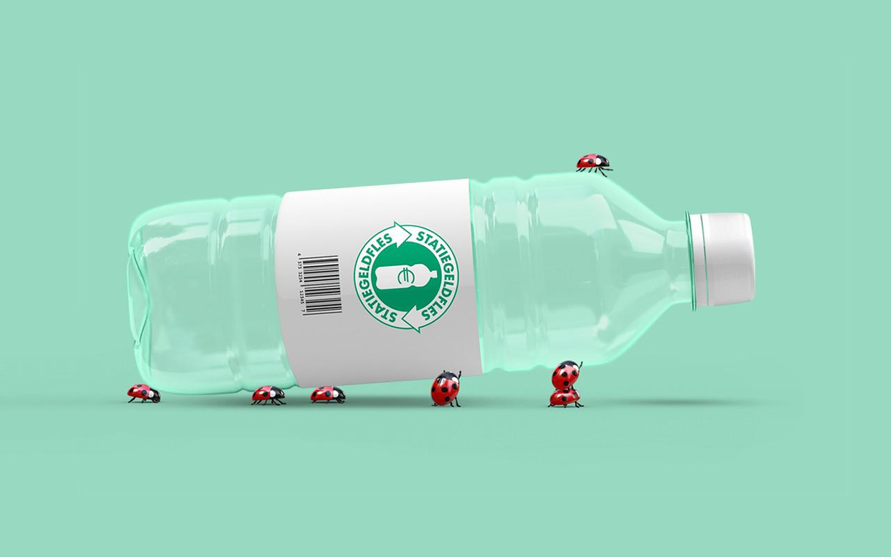 Nu ook statiegeld op kleine plastic flesjes.